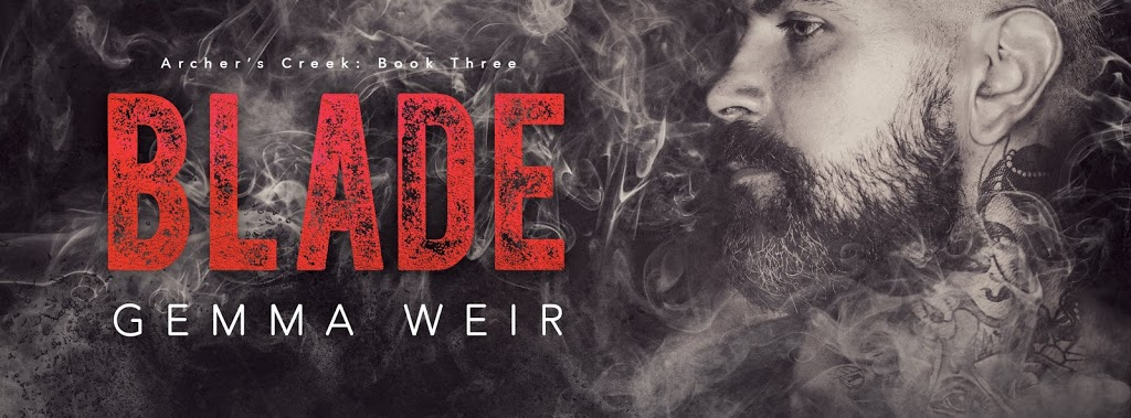 **Cover Reveal** Blade (Archer's Creek #3) by Gemma Weir